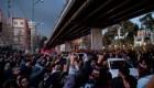 Continúan las protestas contra el gobierno de Irán