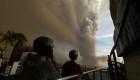 La impresionante erupción del volcán Taal