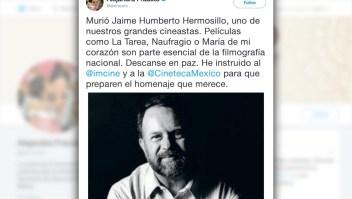 Muere el cineasta mexicano Jaime Hermosillo