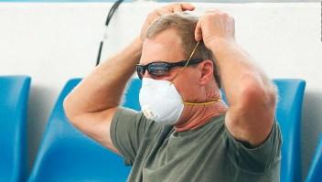 El humo de los incendios afecta el Abierto de Australia