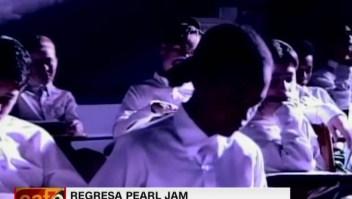 Pearl Jam de nuevo en escena, luego de 6 años