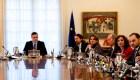 La primera reunión de trabajo del Gobierno de Sánchez
