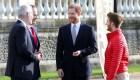 Príncipe Enrique reapareció en público