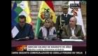 Tribunal Constitucional de Bolivia aprobó extensión del mandato de Áñez