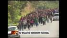 Detienen a 427 migrantes hondureños
