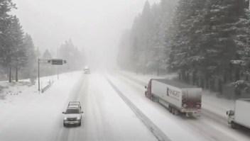 Se forma una tormenta invernal en EE.UU.