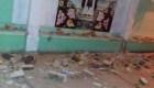 Dos sismos en Oaxaca dejan daños materiales