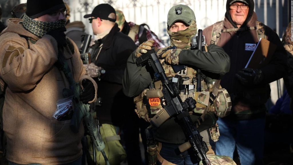 50.000 personas protestan a favor del porte de armas