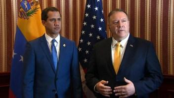 Los detalles de la reunión entre Guaidó y Pompeo