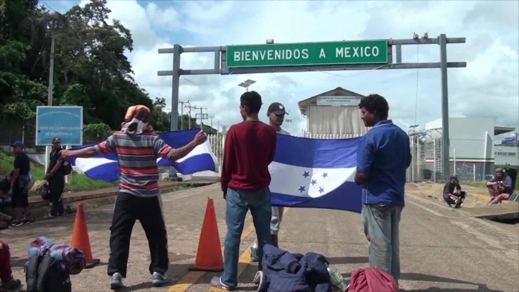 Guardia Nacional repele a migrantes de nueva caravana