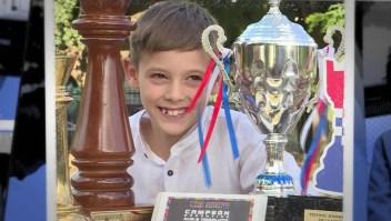 Conoce al niño ajedrecista más destacado de Argentina