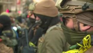Manifestantes piden respetar el porte de armas en EE.UU.