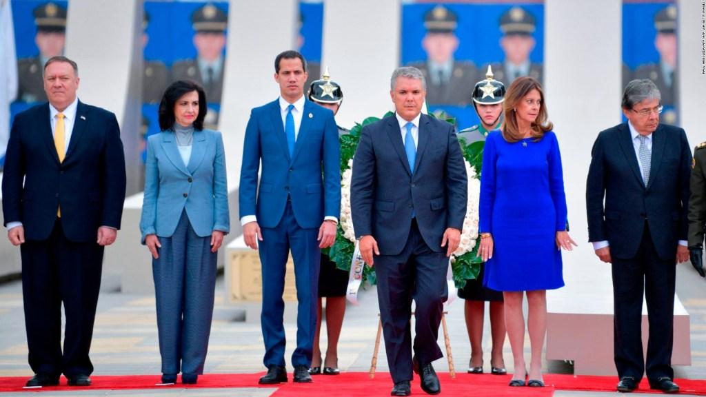 Esto hablaron Guaidó y Pompeo en cumbre contra el terrorismo