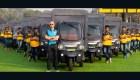 Flota eléctrica de Amazon para entregas en India