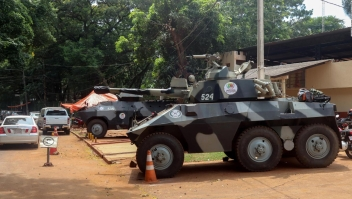 Buscan a los presos fugados en Paraguay y en Brasil