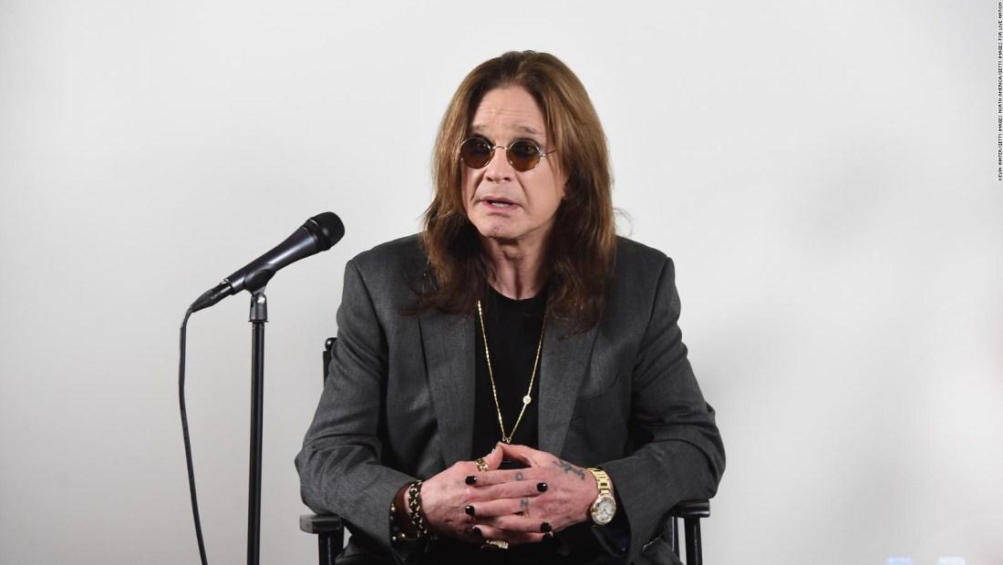 Ozzy Osbourne tiene Parkinson