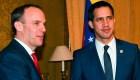 Guaidó busca el apoyo de líderes europeos