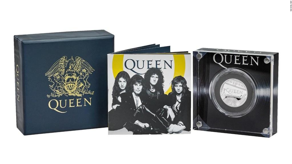 Queen ya tiene su moneda en Reino Unido