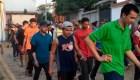 Migrantes hondureños intentarán de nuevo entrar a México