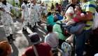 AMLO y la ONU discrepan sobre lo que sucede en la frontera