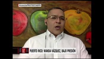 """Meléndez: """"Nadie puede pretender tumbar un gobierno en medio de una emergencia"""""""