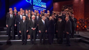 """Foro Mundial del Holocausto: """"Nunca más"""""""
