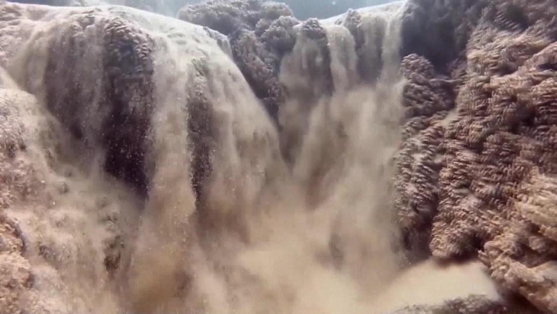 Cascadas de arena: fenómeno natural en México