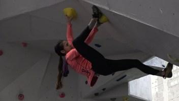 La escaladora que busca el triunfo olímpico para Venezuela