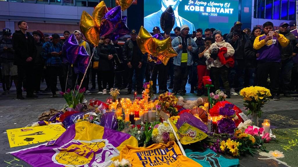 Asombro y desconsuelo por la muerte de Kobe Bryant