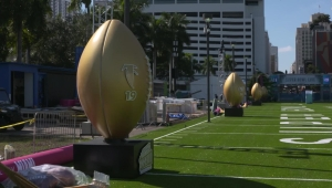 Miami se prepara para el Super Bowl