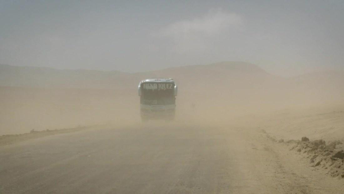 """""""Paracas"""", una insólita lluvia de arena en Perú"""
