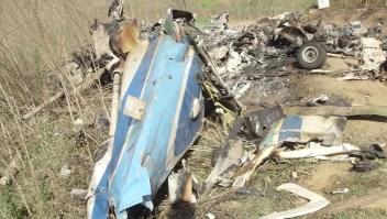 Video muestra cómo quedó el helicóptero de Kobe Bryant