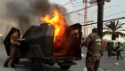 Un muerto en otra jornada violenta en Chile