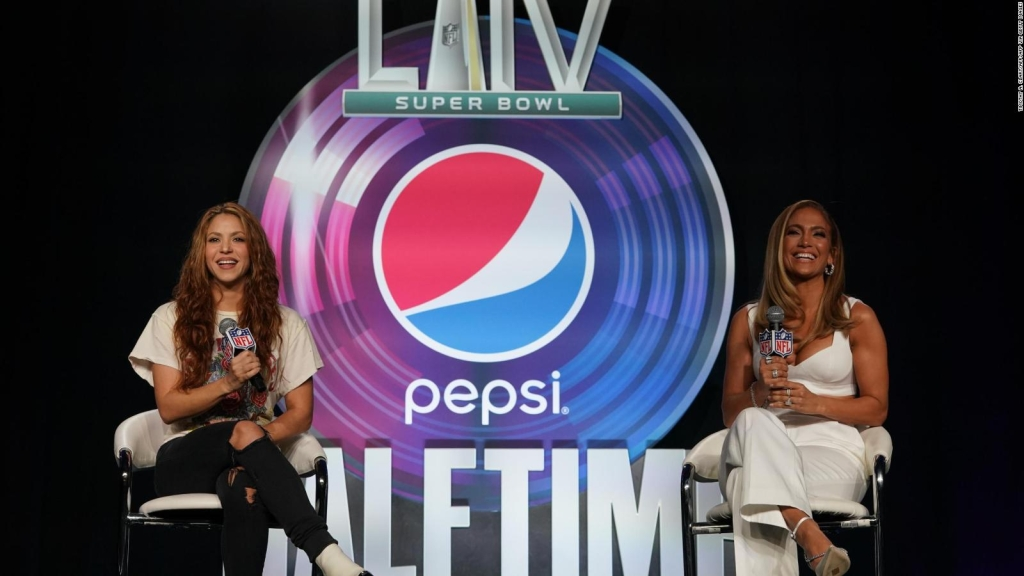Las palabras de Shakira y Jennifer Lopez previo al Super Bowl LlV
