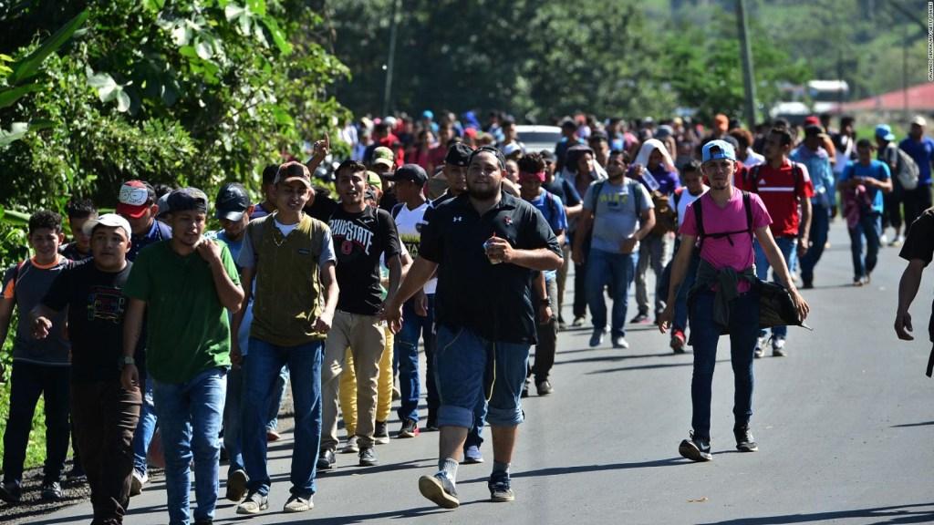 Otra caravana de migrantes intenta llegar a EE.UU.