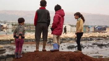 Hay 5 millones de niños desplazados en Siria