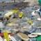 Cuáles son los residuos plásticos más encontrados en las playas argentinas. (Foto de Télam).