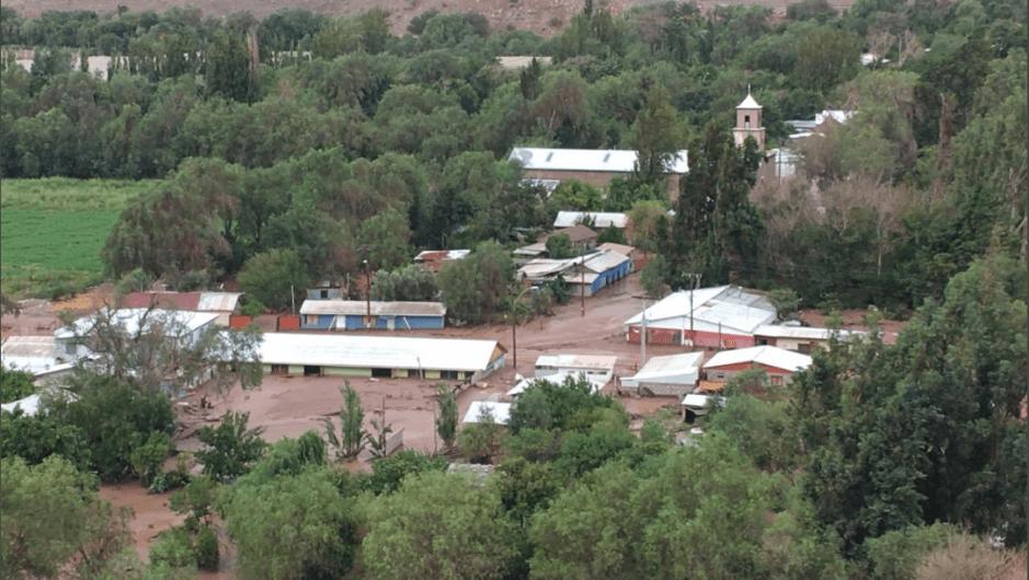 #Alerta: Autoridades declaran alerta amarilla en la región de Atacama en Chile por intensas lluvias