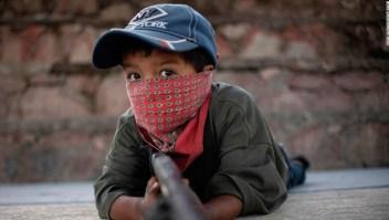 Niños milicia autodefensa México