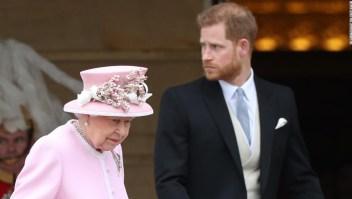 Príncipe Enrique desafió a la reina