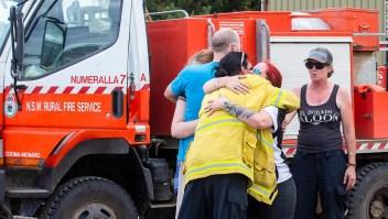 Tres tripulantes estadounidenses murieron en Australia después de que un avión tanque se estrelló en el estado de Nueva Gales del Sur,
