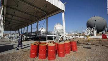 Petróleo ataque Irán