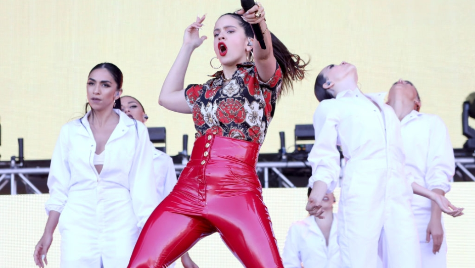 VIRGINIA BEACH, VIRGINIA - APRIL 27: Rosalia performs onstage at SOMETHING IN THE WATER - Day 2 on April 27, 2019 in Virginia Beach City. (Photo by Brian Ach/Getty Images for Something in the Water)