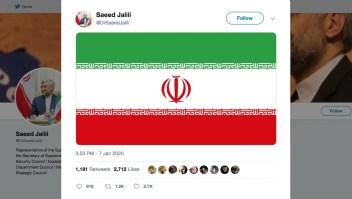 Irán amenaza con atacar dentro de Estados Unidos si Washington responde