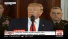 Trump: Estados Unidos implementará inmediatamente otras sanciones económicas de castigo a Irán