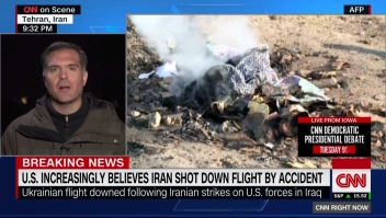 Irán no niega tajantemente la hipótesis de que el avión ucraniano fuera derribado por error