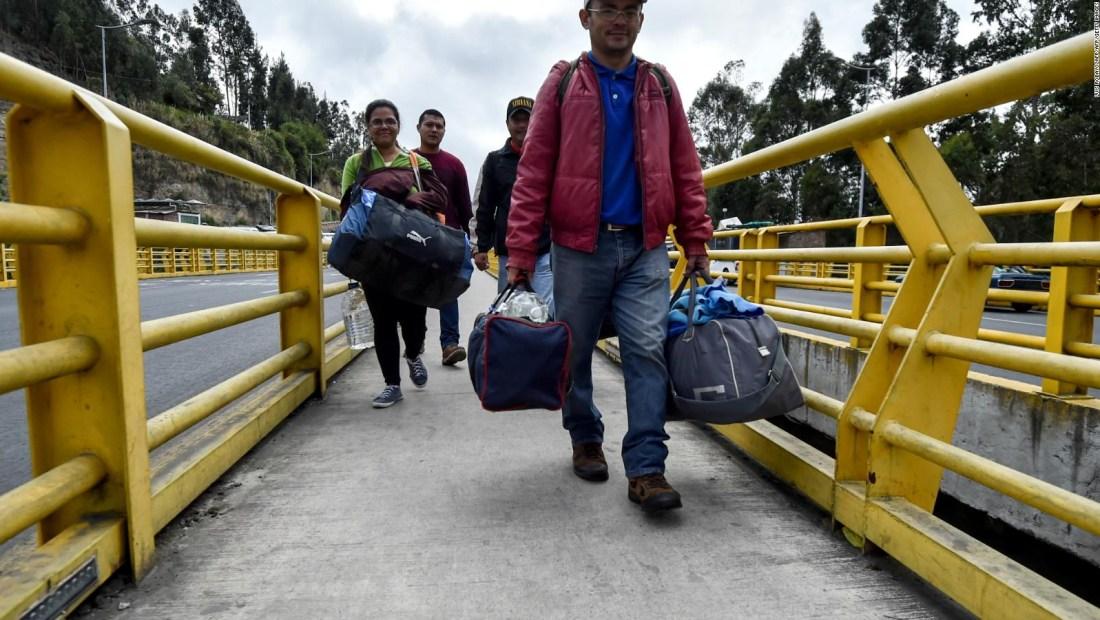 Más de 1,7 millones de venezolanos viven en Colombia