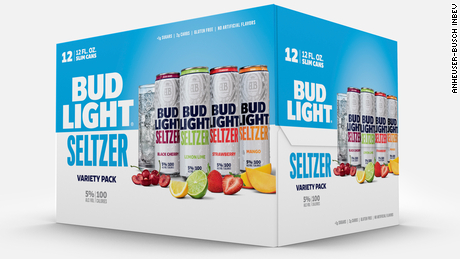 Bud Light entra al mercado de los seltzer con alcohol