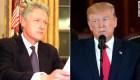 Las reacciones de Trump y Clinton tras sus juicios políticos
