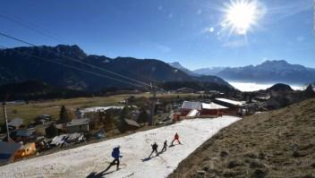 Esquiar en los Alpes puede tener los días contados